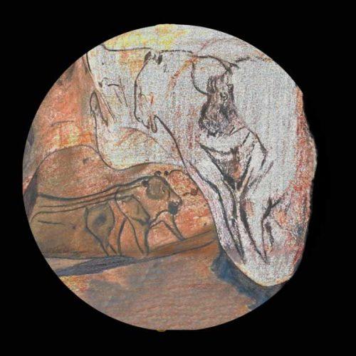 Chauvet – Gott-MUTTER-Darstellung als Pferde-Wisent-Menschenmutter im Mutterhöhlenheiligtum Chauvet