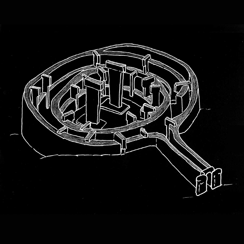 der Gebärmuttertempelanlage mit T-Pfeilern in Göbekli Tepe