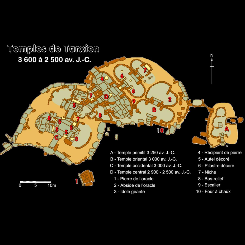 Tempel von Tarxien auf Malta